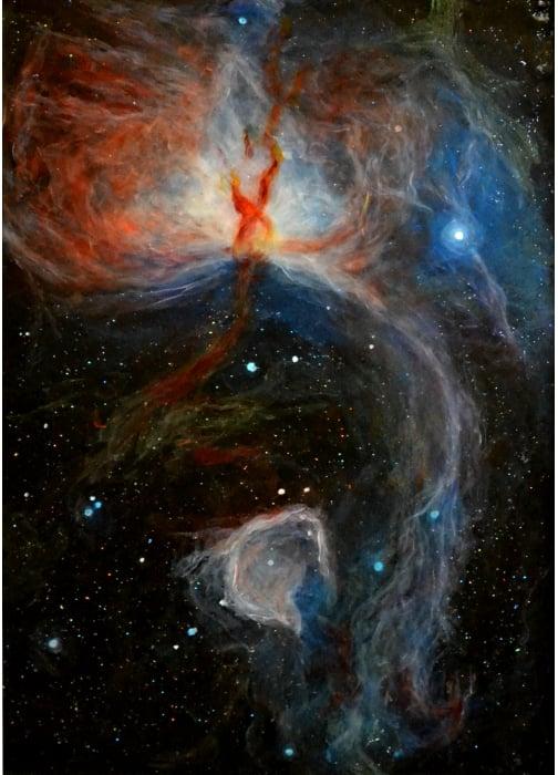 Image of NGC 2024: Flame Nebula