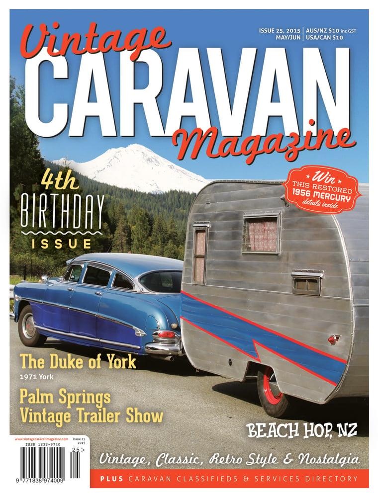Issue 25 Vintage Caravan Magazine