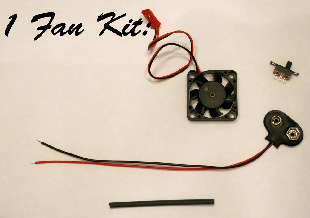 Cooling Fan Kit - DIY kit