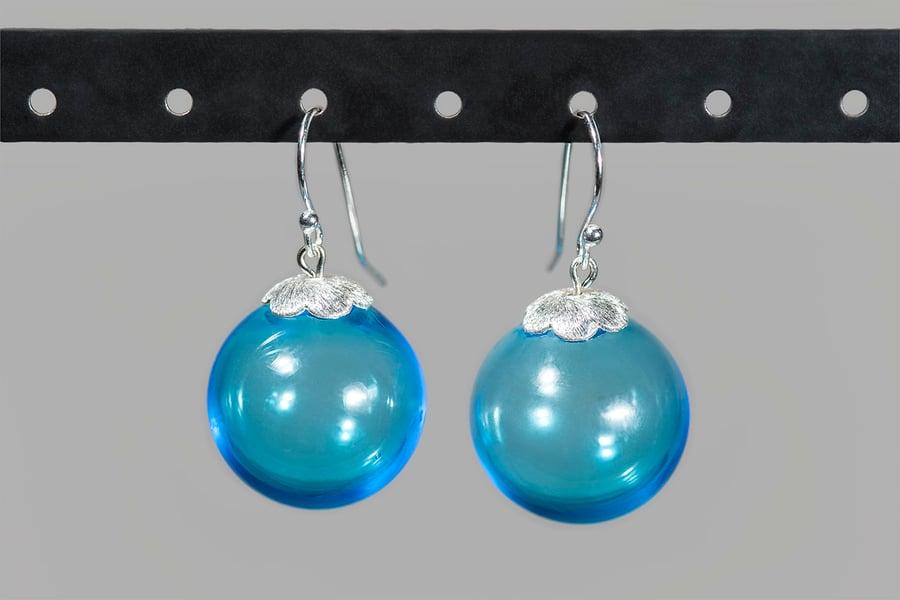 Image of orecchini BUBBLES in perle soffiate di vetro di Murano