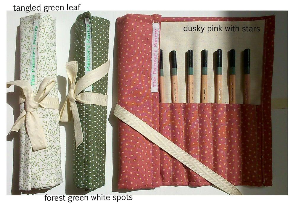 Image of Artist Sketching Pencil Wraps