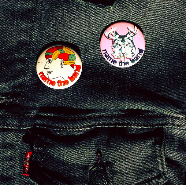 Image of Name The Band Buttons
