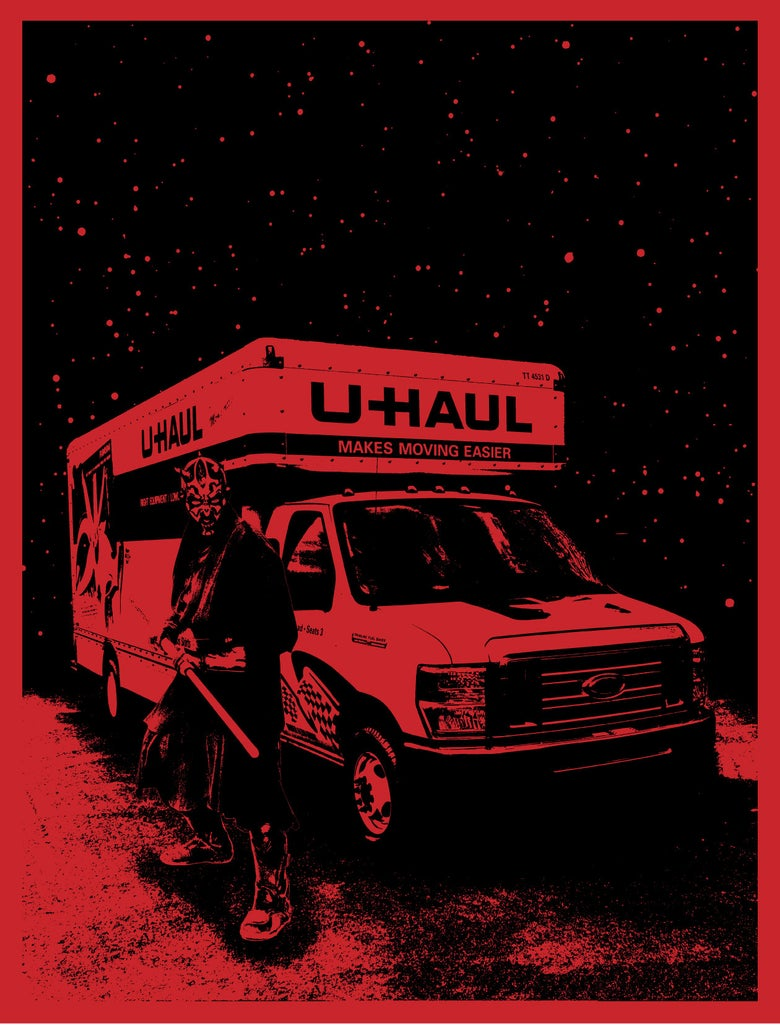 Image of Darth Maul's U-Haul