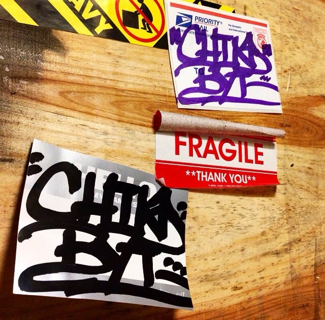 Image of CHINO BYI STICKER PACK
