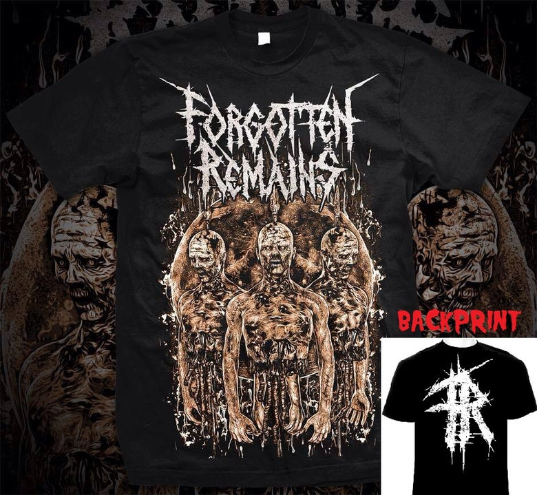 Image of Forgotten Remains Zombie T-Shirt