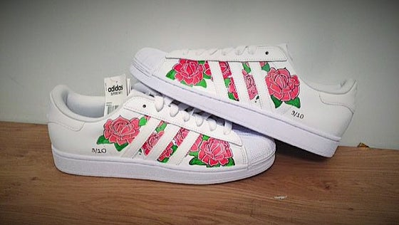Image of ADIDAS SUPERSTAR 'ROSE BOUQUET'