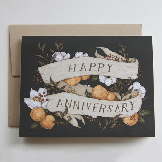 Image of Happy Anniversary Card
