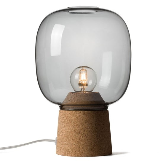 Image of Picia table lamp smoked glass
