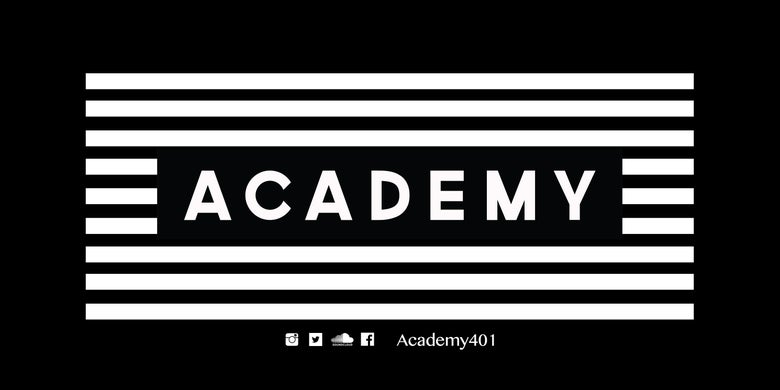 Image of 3 Academy Stickers