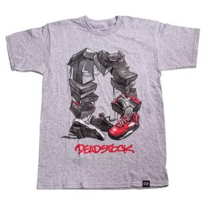 Image of Deadstock Kicks Tee - Grey