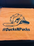 Image of #DucksNPucks Gym Fowl Towel