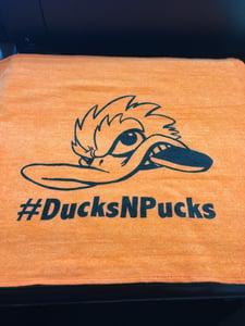 Image of #DucksNPucks Gym Fowl Towel