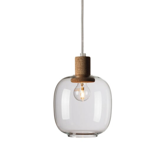 Image of Picia suspension clear glass