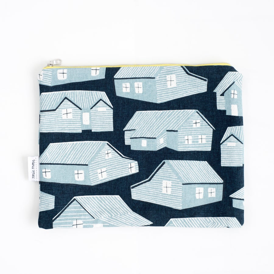 Image of 'Houses' Large Clutch