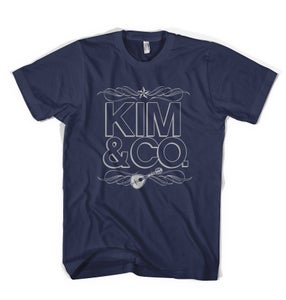 Image of Blue Unisex T - Kim & Co