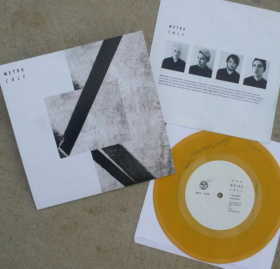Image of Metro Cult - Transparent 7""