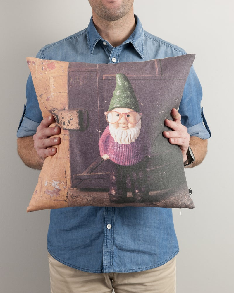 Image of GNOME THROW PILLOW
