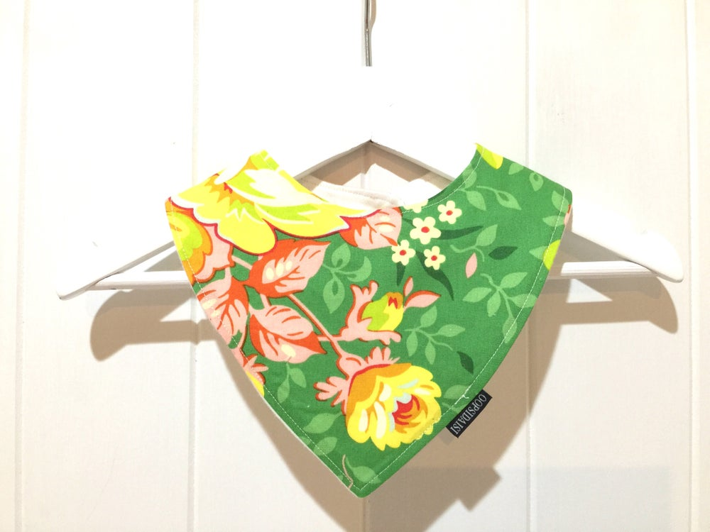 Image of Bandana Bib - Green Thumb