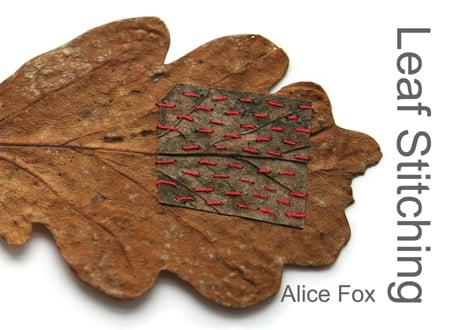 Image of Leaf Stitching - book