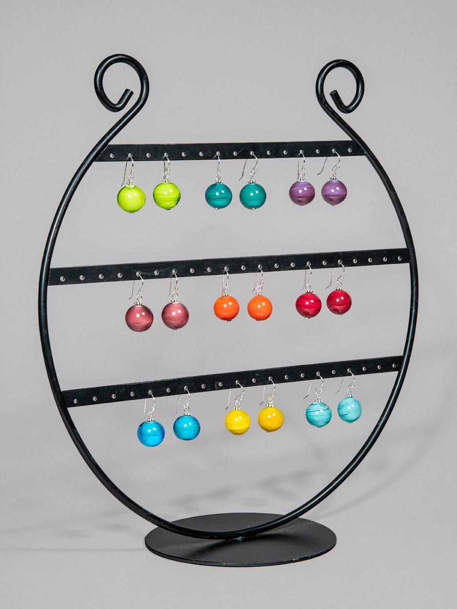 Image of orecchini SOLOCOLORE in perle di vetro di Murano