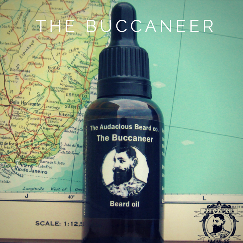 Image of The Buccaneer - beard oil - Original range