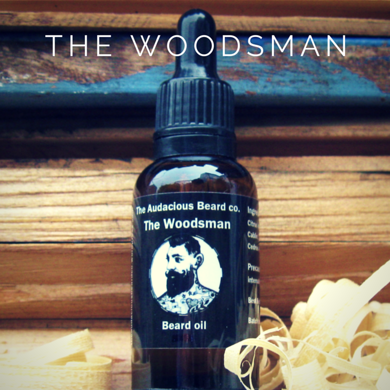 Image of The Woodsman - beard oil - The Audacious Beard Co