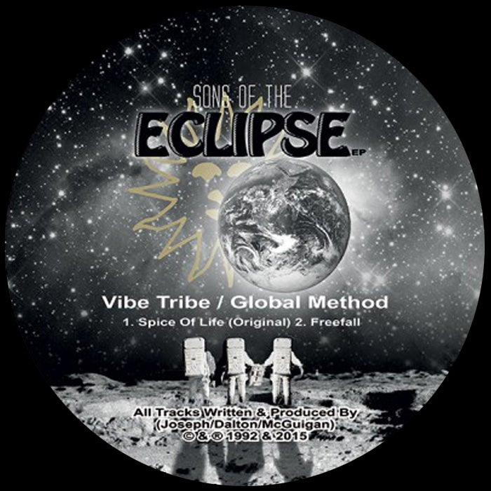 """Image of Vibe Tribe & Global Method - Sons Of The Eclipse EP - KVA003 / 9T2R008 - 2x12"""" Vinyl - SOLD OUT"""