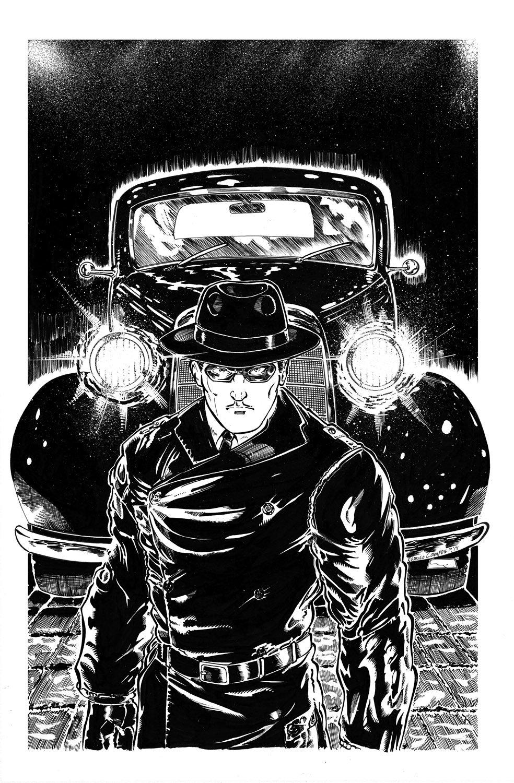 Image of Original Art - El Viudo ComicBook Cover