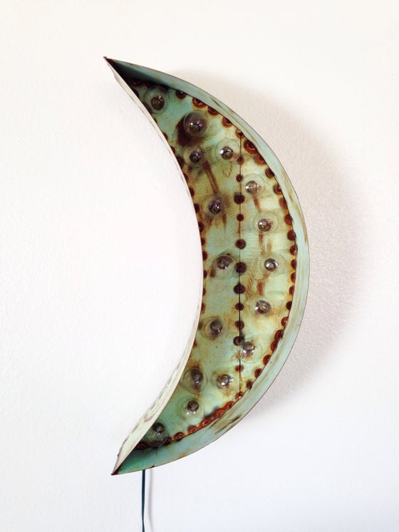 Image of Crescent Moon Marquee Light