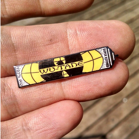 Image of The Wu-Tane Can Hat Pin