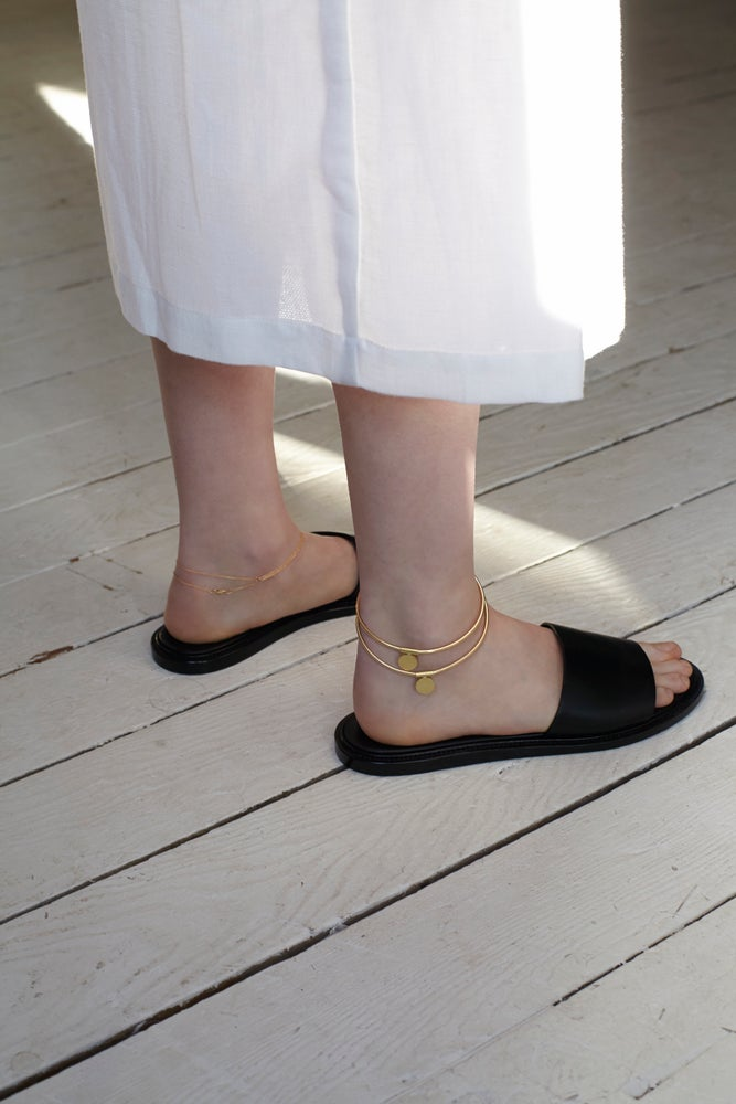 Image of SAMPLE SALE - discus anklet