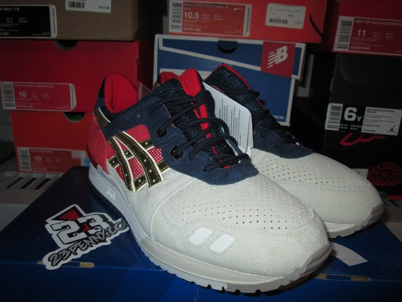 """Image of Asics Gel Lyte III (3) """"Concepts: Boston Tea Party"""""""