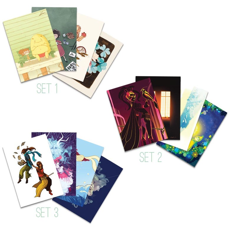 Image of Artist Cards