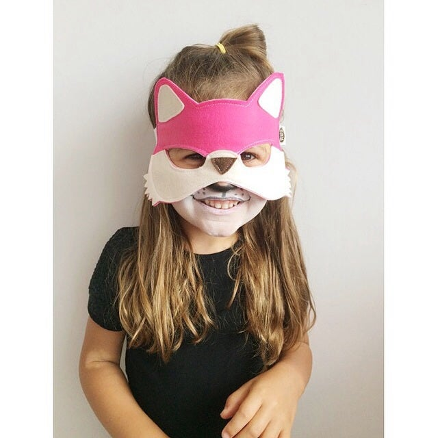Image of Pink Fox Mask