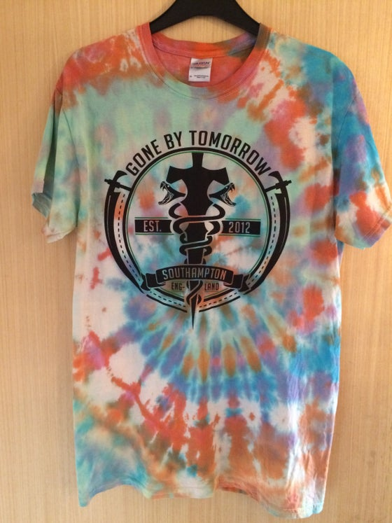 Image of Tie Dye Snakes and Daggers Tee