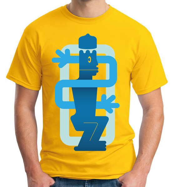 "Image of Pre-Order | ""Uche"" Ultra cotton yellow Tee"