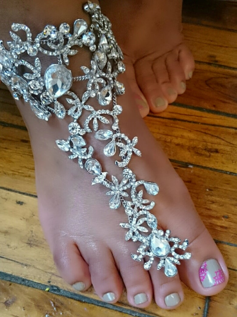 """Image of """"Thing of Beauty"""" Barefoot Bling"""