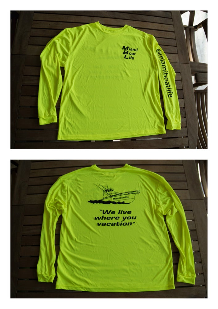 Image of Dri Fit neon long sleeve