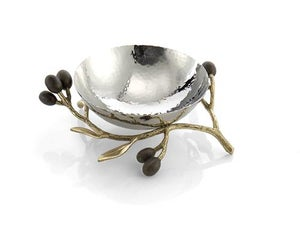 Image of Olive Branch Nut Bowl