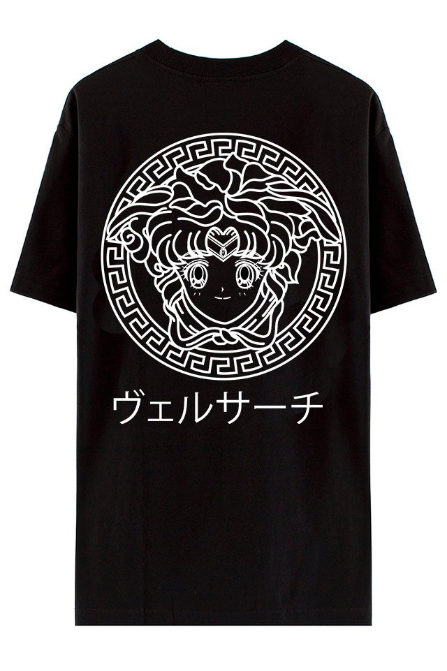 Image of USAGI VERSACE BLACK TEE