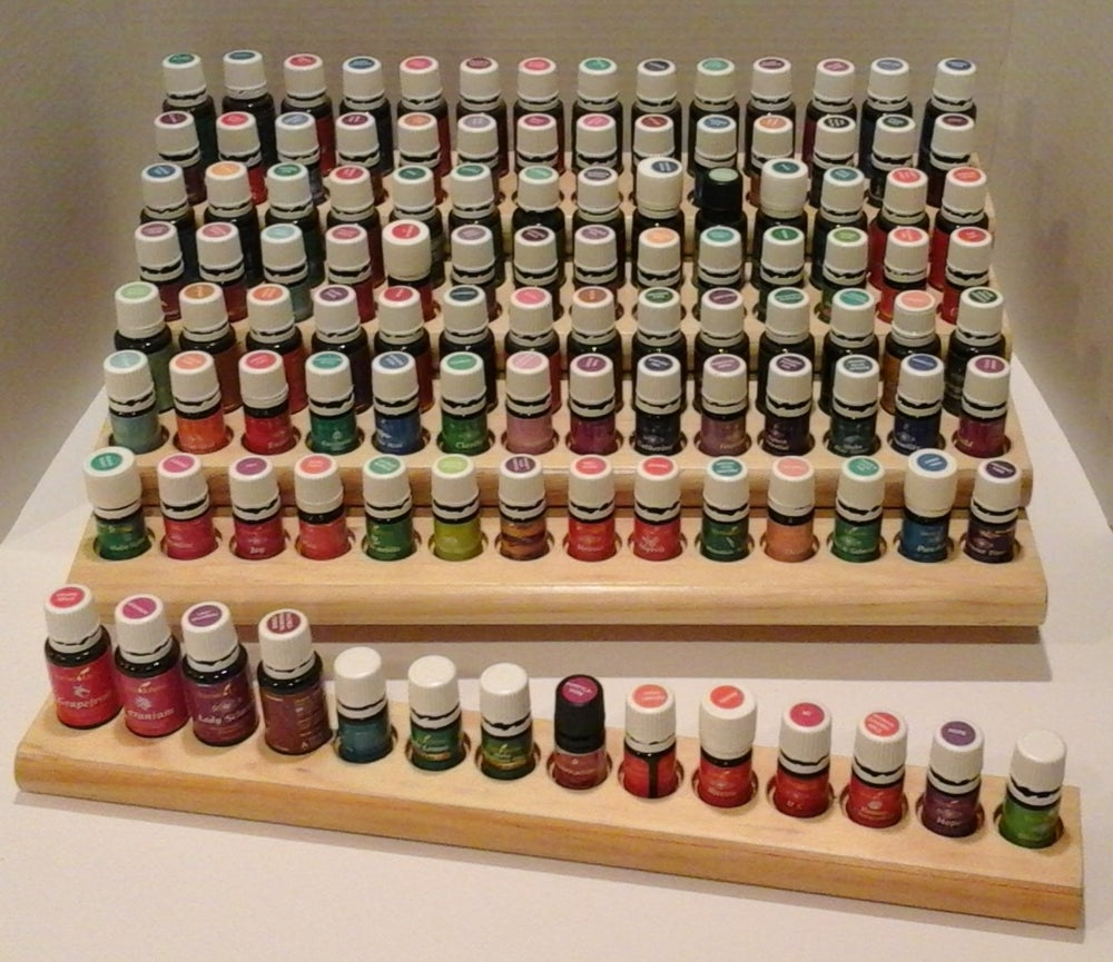 Image of Abundant Stairway Essential Oil Rack with Extension Bar