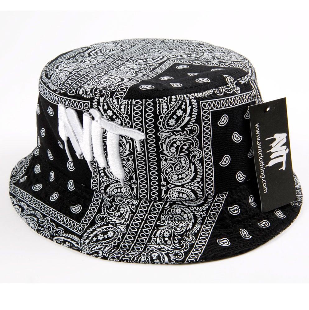 Image of AVIT BANDANA BUCKET HAT