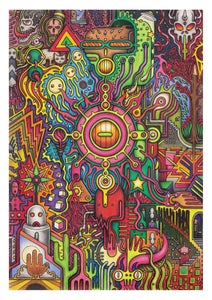 Image of 'Spikeheed' - A3 Giclée Print