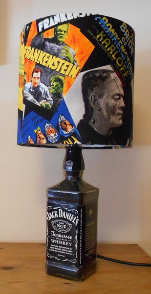 Image of FRANKENSTEIN Jack Daniels Lamp Deal