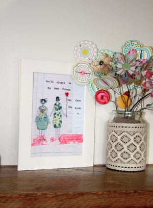 Image of You'll always be my Best friend print