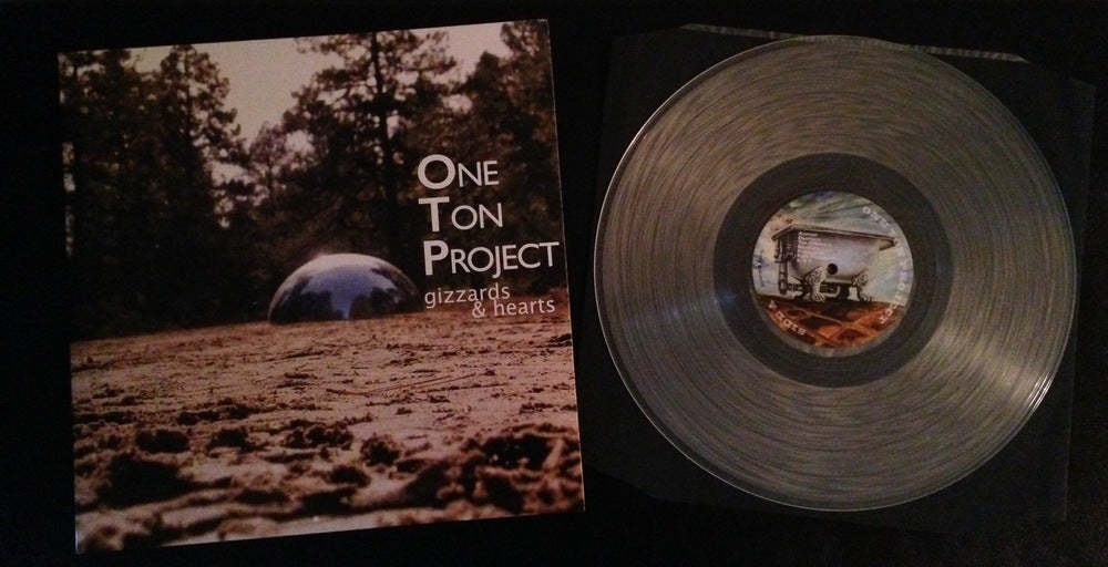 "Image of One Ton Project ""Gizzards and Hearts"" Deluxe Vinyl LP"