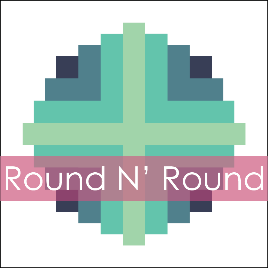 Image of Round N' Round Mini Quilt #113, PDF Pattern