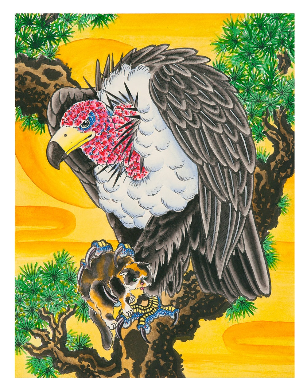 Image of Limited Edition Vulture Print