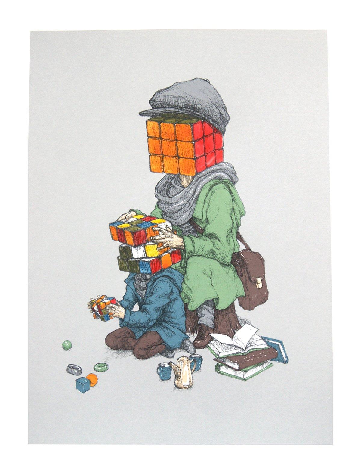 "Image of Rustam QBic ""Mind Games"" (Grey)"