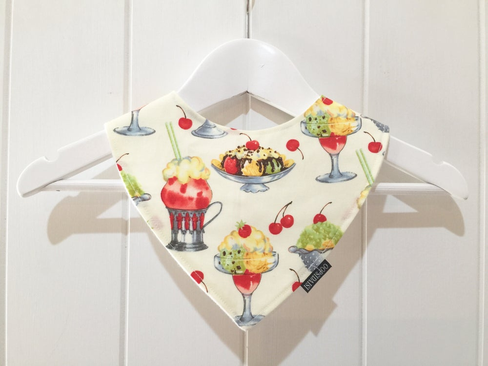 Image of Bandana Bib - Sundaes